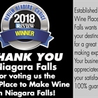 Thanks For Voting Us The Best Place To Make Wine!