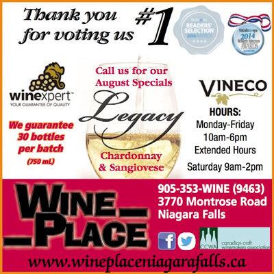 Best Wine Making Place Niagara